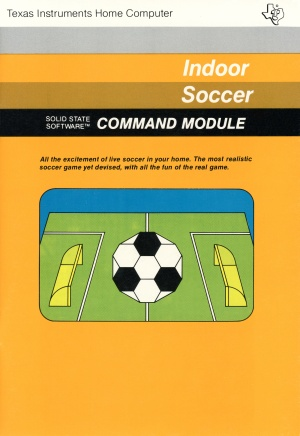 Indoor Soccer Manual Front Cover