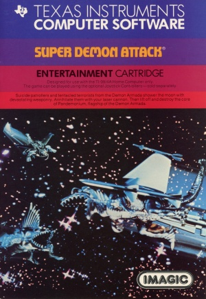 Super Demon Attack Manual (Front Cover)