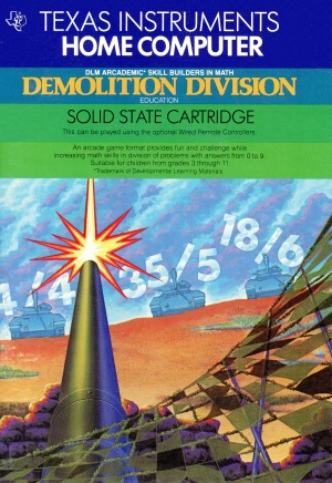 Demolition Division Manual Cover