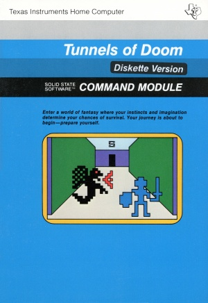 Tunnels of Doom Manual Front Cover