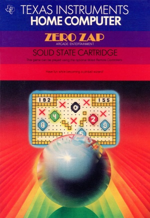 ZeroZap Manual Front Cover