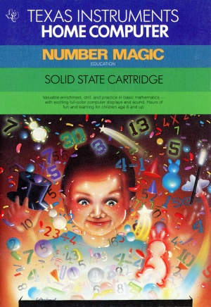 Number Magic Front Cover (New)