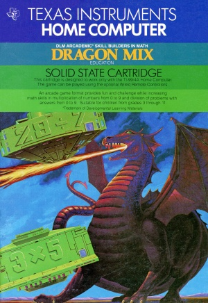 Dragon Mix Manual Front Cover