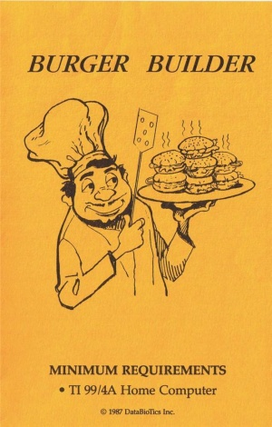 Burger Builder Manual Cover