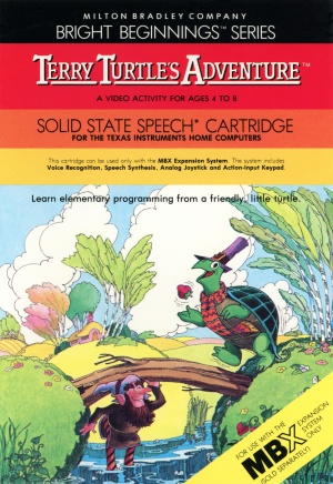Terry Turtle's Adventure Manual Cover