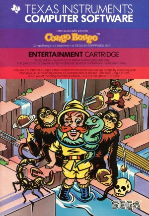 Congo Bongo Manual Cover